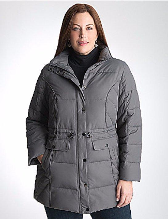 Как выбрать куртку большого размера?
