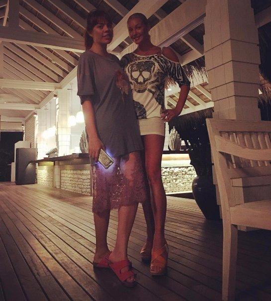Волочкова поделилась снимком с Анастасией Стоцкой