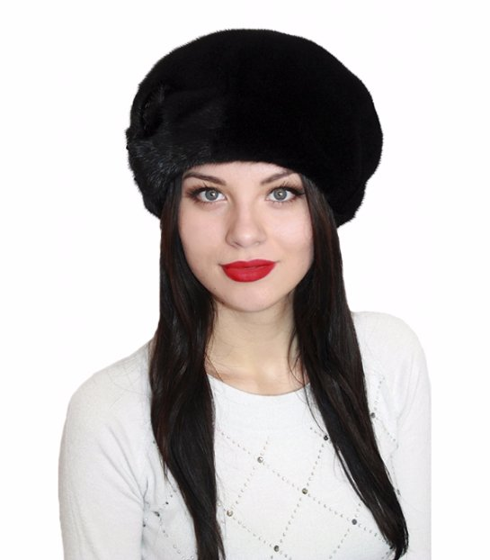Покупка меховой шапки