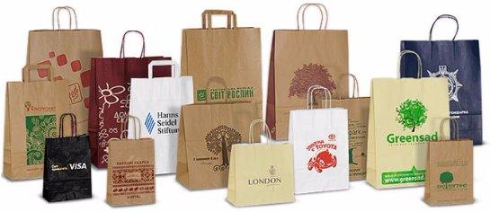 Почему на рынке востребованы бумажные пакеты с логотипом