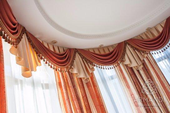 Стильные шторы как изюминка интерьера