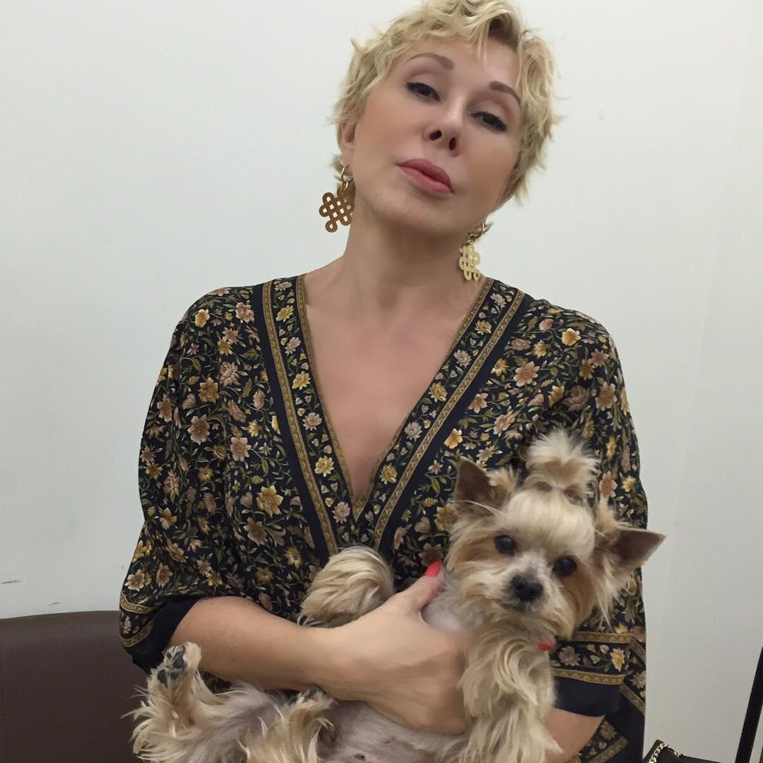 Любовь Успенская застраховала свою собаку