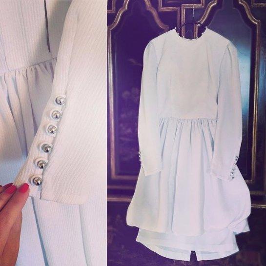 Ирина Безрукова продает свадебное платье