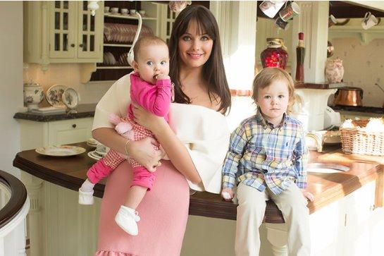 Оксана Федорова хочет много детей