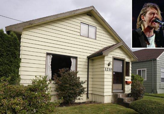 Дом Курта Кобейна выставили на продажу