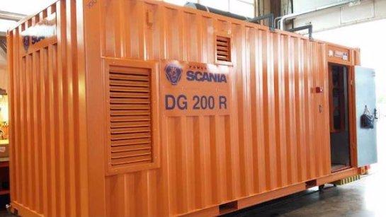 Продажа дизельных электростанций Scania