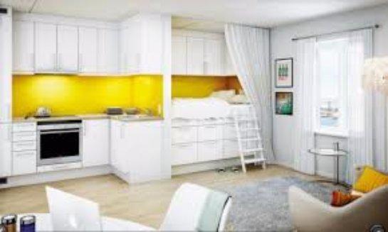 Рациональное использование однокомнатной квартиры
