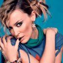 Кайли Миноуг в честь 50-летнего юбилея снялась для Vogue