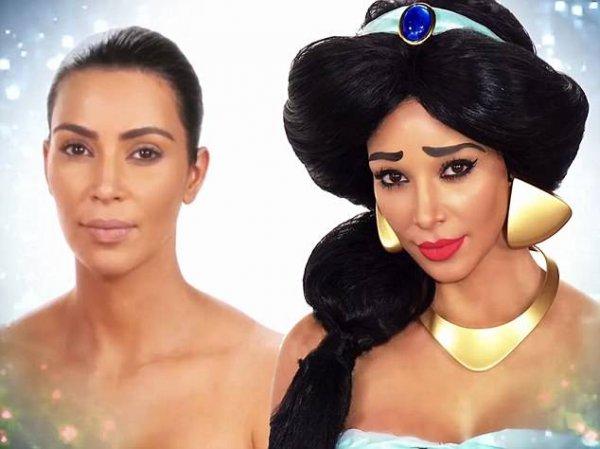 Ким Кардашьян изменила внешность и попыталась обмануть дочь