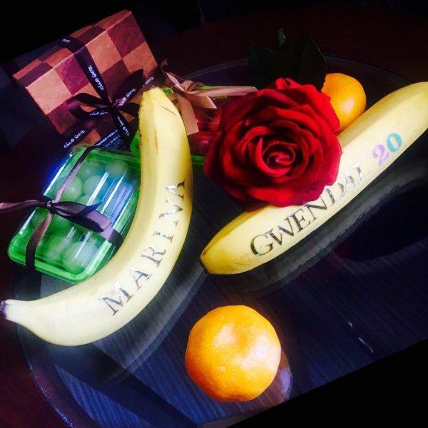 Возлюбленной Джигурды японцы дарят именные бананы