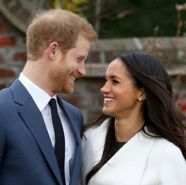Принц Гарри и Меган Маркл шокировали зрителей шоу странным выражением лица