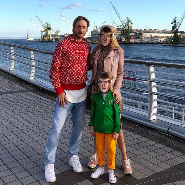 Маски-шоу в исполнении четы Плющенко-Рудковская поразило Сеть