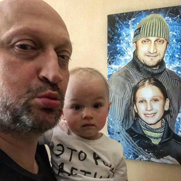 Гоша Куценко показал умилительный снимок с маленькой дочерью