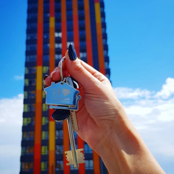 Ольга Ветер наконец получила ключи от обещанной квартиры