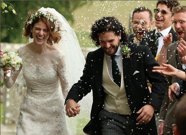 В Сеть попали первые фото со свадьбы «Джона Сноу» и «одичалой Ингритт»