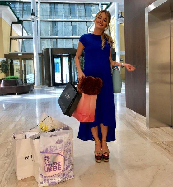 Беременная Анна Хилькевич шокировала поклонников, надев высокие каблуки