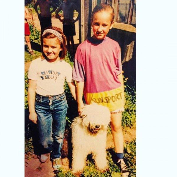 «Мы с тобой одной крови»: Ольга Бузова трогательно поздравила младшую сестру с 30-летием