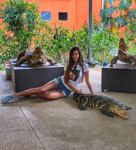 «Безобидный крокодильчик»: Сестра Ольги Бузовой рассказала о своих фобиях