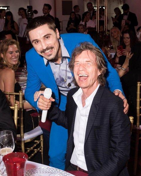 «Счастлив как ребёнок»: Билан признался, что рад знакомству с легендарным рокером Миком Джаггером