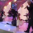 Валерий Меладзе станцевал с 3-летней дочерью Татьяны Навки на свадьбе