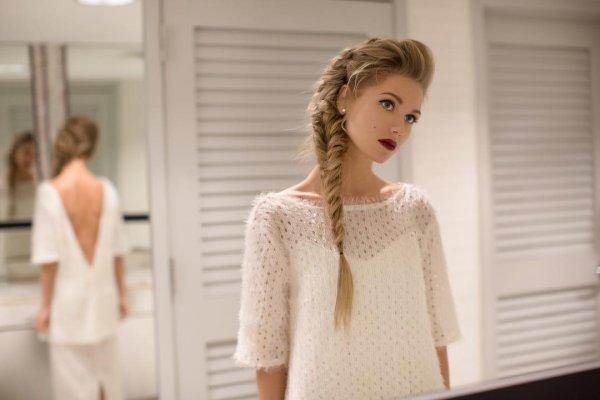 «А Гарик знает?»: Кристина Асмус с дочерью отправились в свадебный магазин