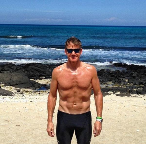 Молодые позавидуют: 51-летний Гордон Рамзи показал не по годам спортивное тело