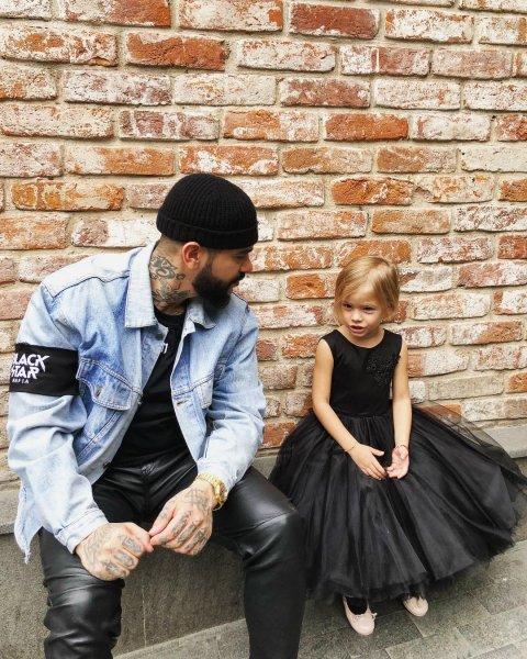 В новом клипе Тимати снялась его четырехлетняя дочь Алиса
