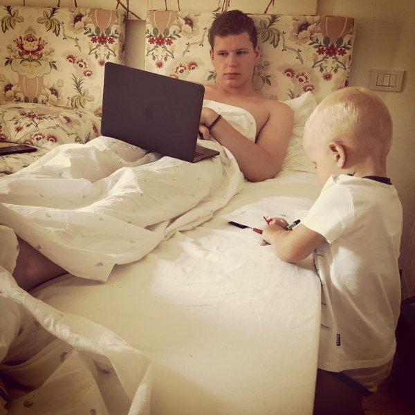 Виторган показал трогательное фото сыновей