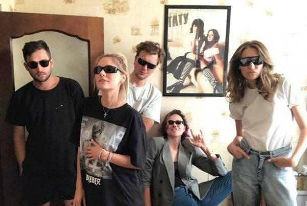 Самбурская и Рудова показали снимок из «лихих 90-х»