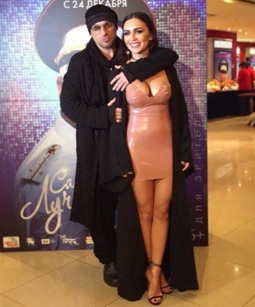 А что ж грудь не потрогал? Фанаты обсудили «жаркое» фото Серябкиной и Нагиева
