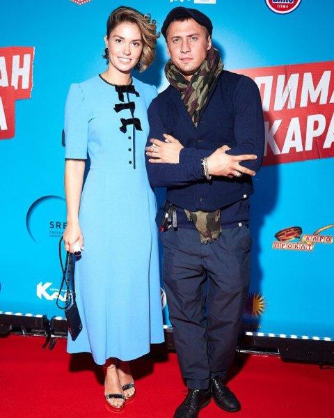 Агата Муцениеце и Павел Прилучный «закрепили» примирение обручальными тату