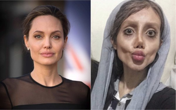 Иранская зомби-копия Анджелины Джоли снова ужаснула мир