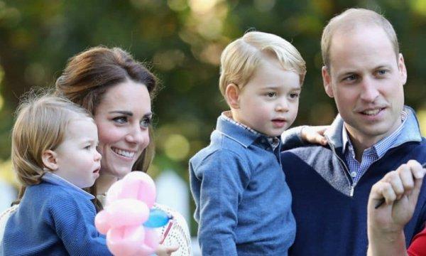Кейт Миддлтон и принц Уильям юридически не являются родителями своих детей