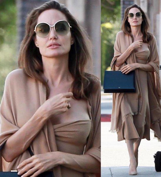 Истощенная Анджелина Джоли шокировала фанатов своим внешним видом
