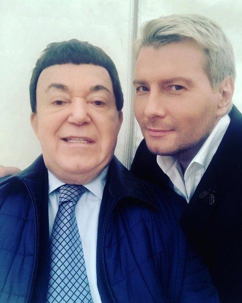 Наташа Королева и Николай Басков в Instagram простились с Иосифом Кобзоном