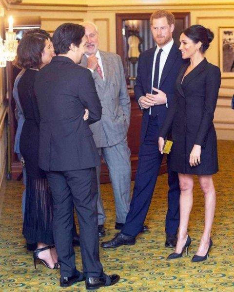 Меган Маркл нарушила королевский дресс-код на спецпоказе мюзикла «Гамильтон»