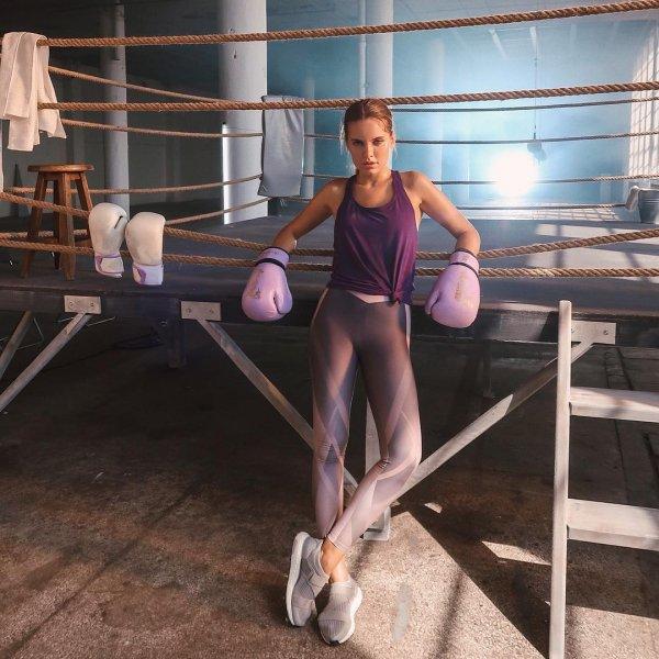 Дарья Клюкина в боксерских перчатках опозорилась в Стамбуле