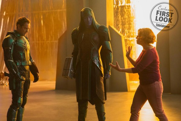 В Интернете появились первые кадры «Капитана Марвела»