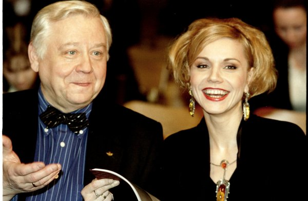 Вдова Олега Табакова нашла работу после смерти звездного мужа
