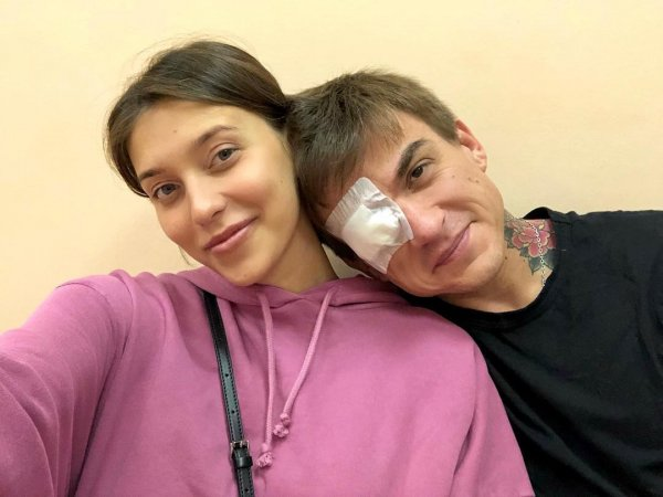 Регина Тодоренко показала Влада Топалова с травмой глаза