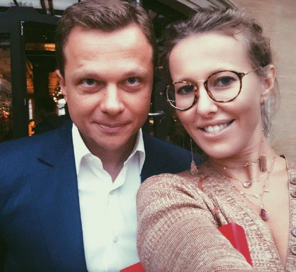 Максим Виторган приревновал Ксению Собчак к заместителю мэра Москвы