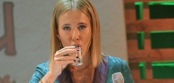 Собчак алкоголем избавляется от нежеланного ребенка