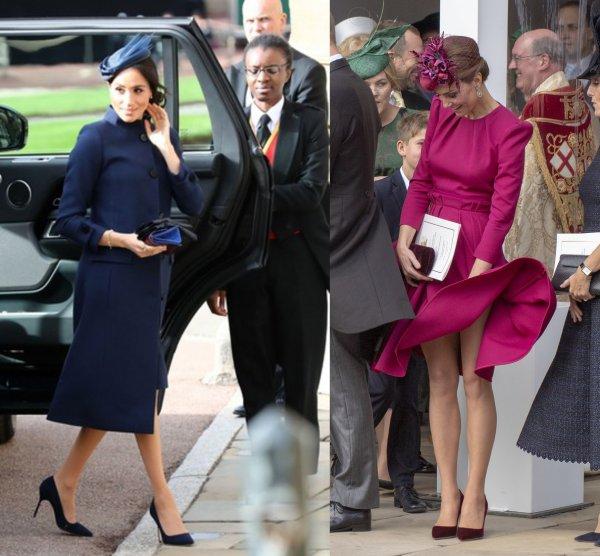 Кейт Миддлтон превзошла Меган Маркл на свадьбе принцессы Евгении