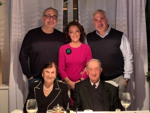 Константин и Валерий Меладзе поздравили отца с 85-летием