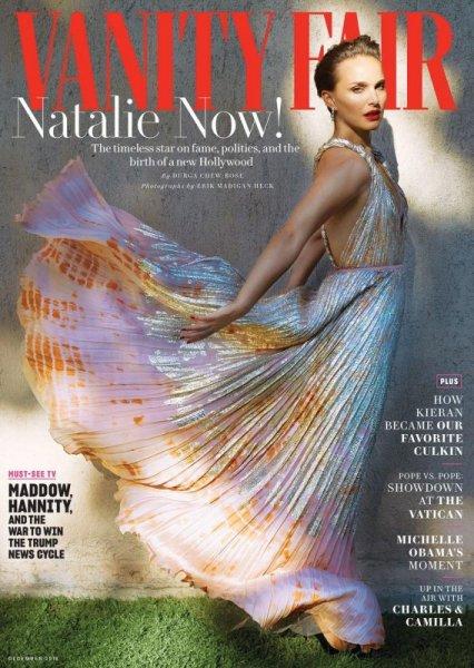 Натали Портман снялась для журнала Vanity Fair
