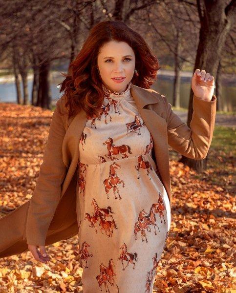 Актриса Екатерина Вуличенко рассказала, как повлияла на нее беременность