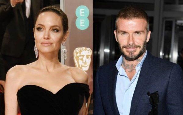 Коварная разлучница Анджелина Джоли может разбить семью Дэвида Бекхэма - СМИ
