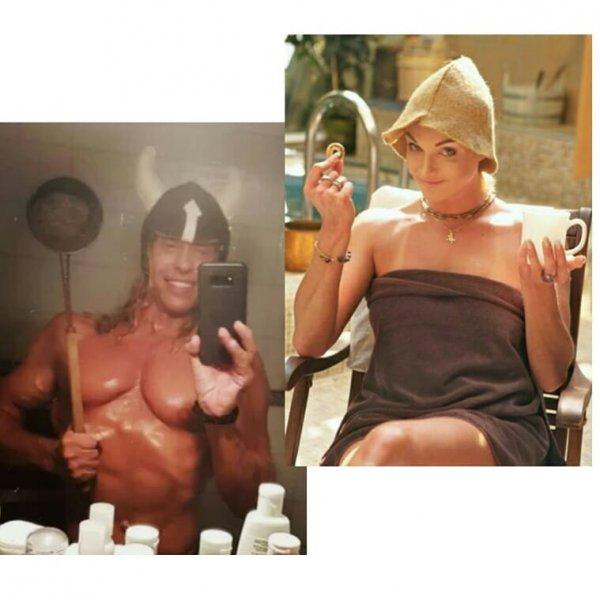 В Сети стриптизера Тарзана и Волочкову назвали «идеальной парой»