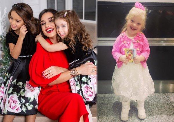Доброе сердце: Бородина осчастливила семью военного с «особенной» дочкой