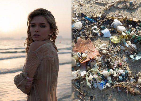 Дорогая помойка: Брежнева отдыхает на Мальдивах среди гор мусора